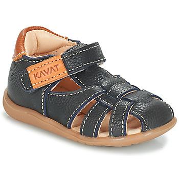 Chaussures Garçon Sandales et Nu-pieds Kavat RULLSAND Bleu marine