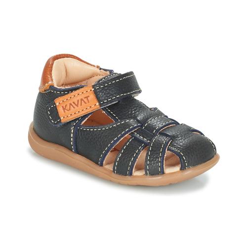 Chaussures Enfant Sandales et Nu-pieds Kavat RULLSAND Bleu marine