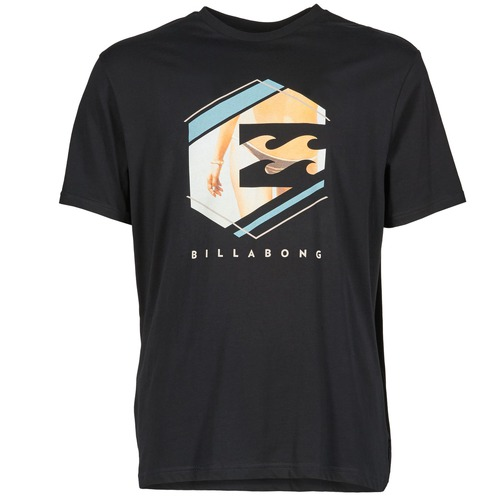 Vêtements Homme T-shirts manches courtes Billabong HEXAG SS Noir