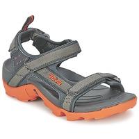 Chaussures Garçon Sandales sport Teva TANZA Gris