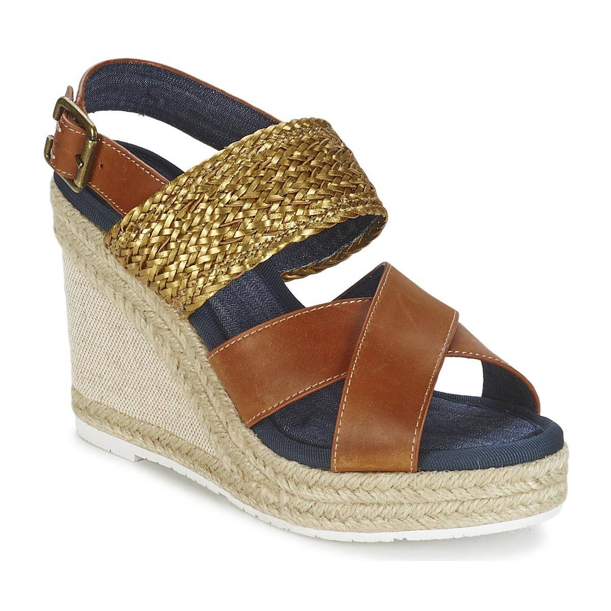 Sandale Napapijri BELLE Camel / Or