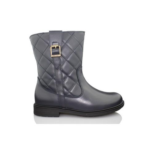 Chaussures Fille Boots Pablosky GOLDEN BLEU