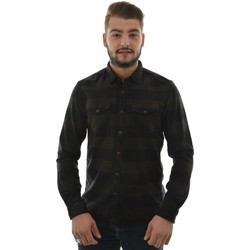 Vêtements Homme Chemises manches longues Tom Tailor 2030509 fitted,shirt checked,1/1 noir