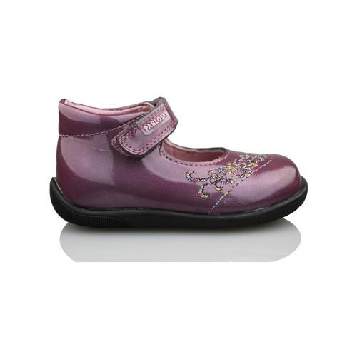 Chaussures Fille Ballerines / babies Pablosky GANGES VIOLET