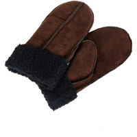 Gants Pieces Mitaines Rollo  Marron Fonce