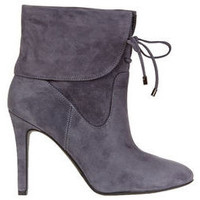 Chaussures Femme Bottines Guess Boots Femme Declan Suede  Gris Gris