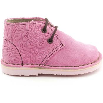 Chaussons bébés Boni Classic Shoes Boni Alice - chaussure fille rose