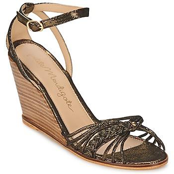 Sandale Petite Mendigote COLOMBE Noir / Doré 350x350