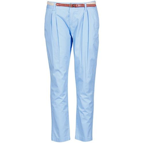 Pantalons La City PANTBASIC Bleu 350x350