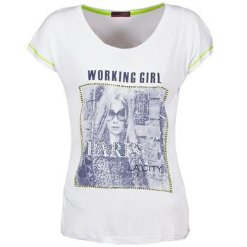 T-shirts & Polos La City TMCD3 Blanc 350x350