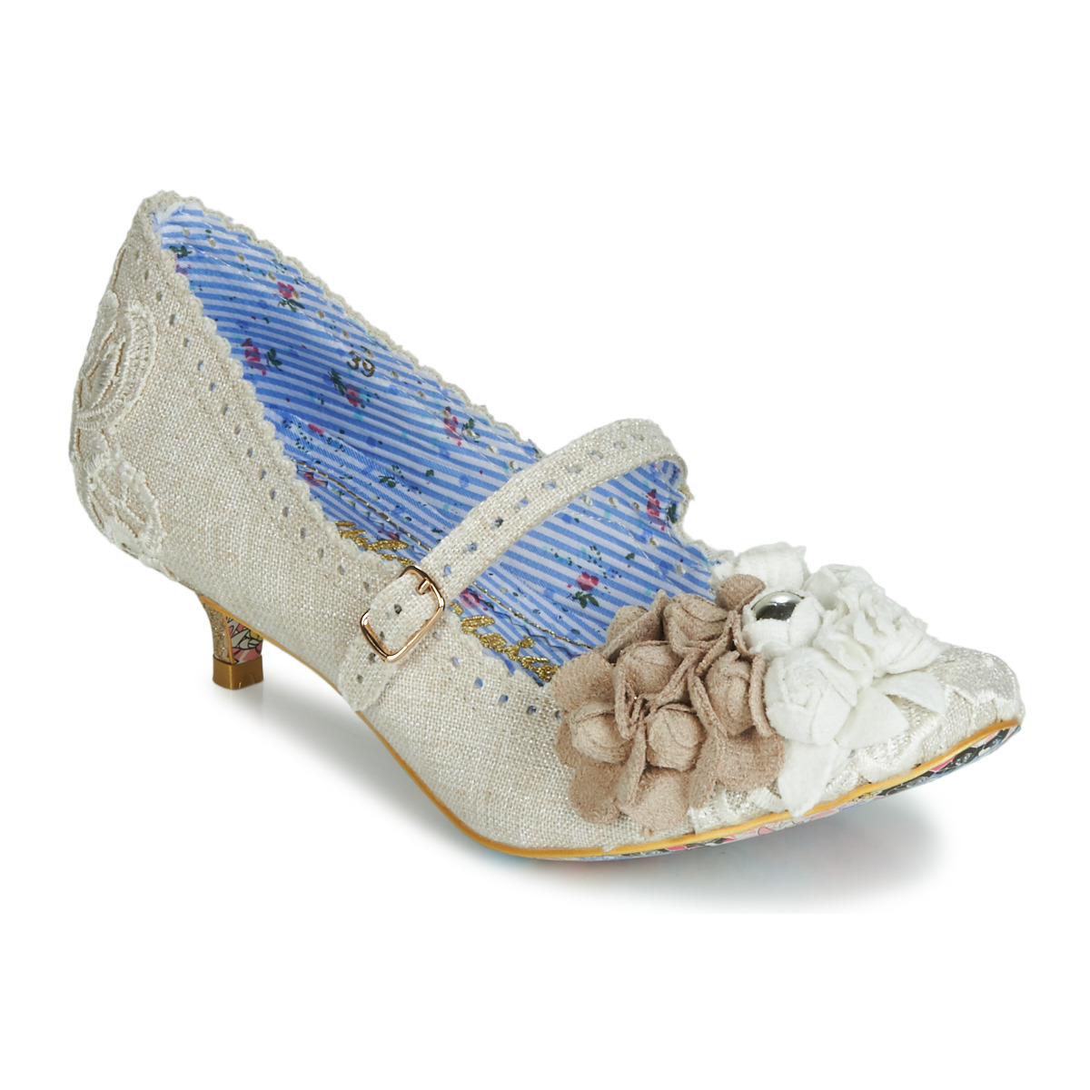 Escarpins Irregular Choice DAISY DAYZ Beige / Multicolor