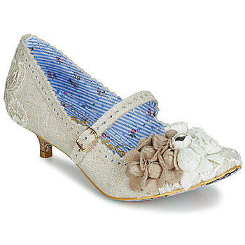 Escarpins Irregular Choice DAISY DAYZ Beige / Multicolor 350x350