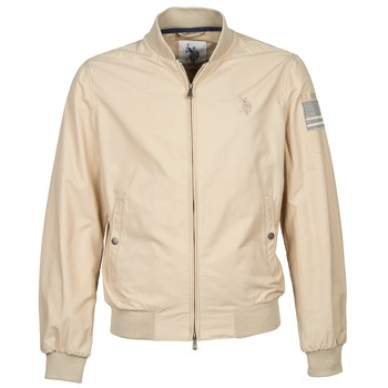 Vêtements Homme Blousons U.S Polo Assn. USA FLAG BOMBER Beige