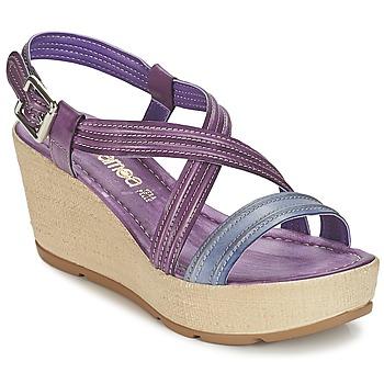 Chaussures Femme Sandales et Nu-pieds Samoa JEBEMA Violet / Bleu