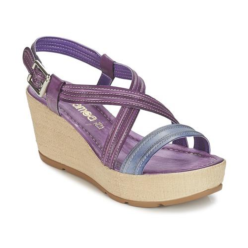 Sandale Samoa JEBEMA Violet / Bleu 350x350