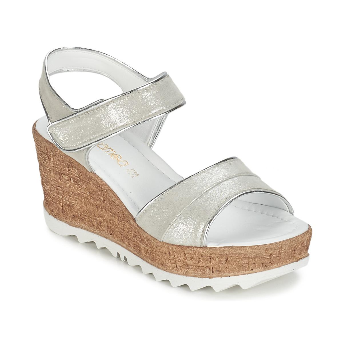 Sandale Samoa MOJILA Gris / Blanc