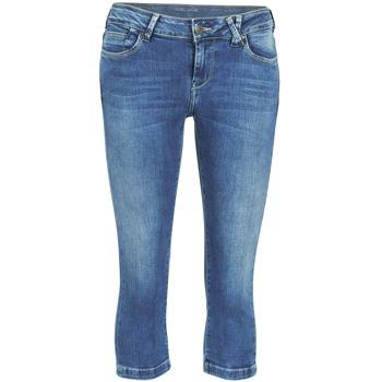 Pantalons 7/8 et 3/4 Teddy Smith PANDOR COURT COMF USED Bleu medium 350x350