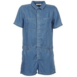 Vêtements Femme Combinaisons / Salopettes Teddy Smith CALINCA DENIM LYOCELL Bleu