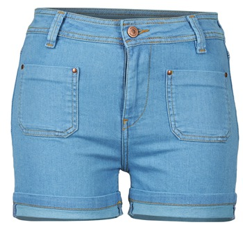 Vêtements Femme Shorts / Bermudas School Rag SUN Bleu medium