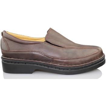 Chaussures Homme Mocassins Calzamedi Homme  mocassin porter NOIR