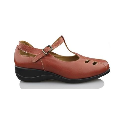 Chaussures Femme Escarpins Calzamedi femme Mercedita BRUN