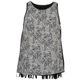 Vêtements Femme Débardeurs T shirts sans manche Color Block PINECREST Gris Noir