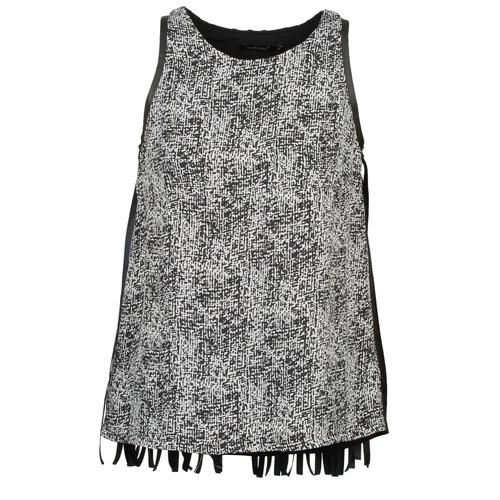 Vêtements Femme Débardeurs / T-shirts sans manche Color Block PINECREST Gris / Noir / Blanc