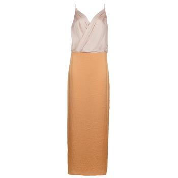 Vêtements Femme Robes longues Lola RAPH Rose / Saumon