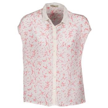 Vêtements Femme Chemises manches courtes Lola CANYON Blanc / Rouge