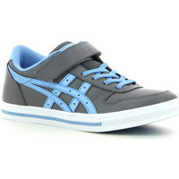 Chaussures Enfant Baskets basses Asics Aaron  PS Light grey Blue bell