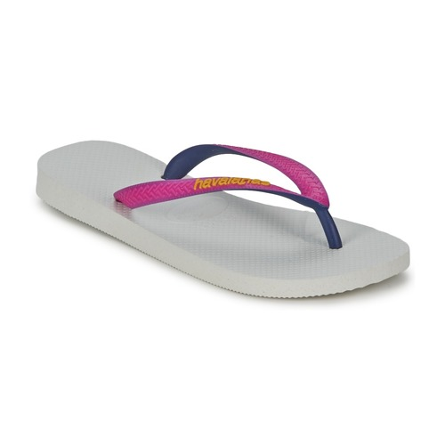 Chaussures Femme Tongs Havaianas TOP MIX Blanc / Rose