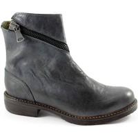 Chaussures Femme Bottines J.p. David 32525 grigio scarpe donna stivaletti tronchetti apertura zip Grigio