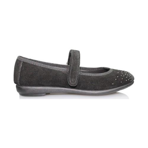 Chaussures Fille Ballerines / babies Vulladi SERRAJE CAN NOIR