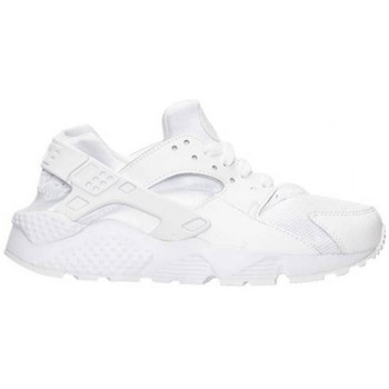 Chaussures Enfant Baskets basses Nike HUARACHE GS BLANC