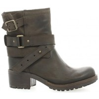 Chaussures Femme Boots Pao Boots cuir nubuck Marron