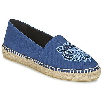 Chaussures Femme Espadrilles Kenzo TIGER HEAD Bleu