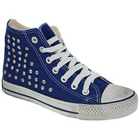 Chaussures Homme Baskets montantes Be Someone a13bso001 bleu