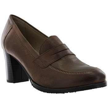 Chaussures Femme Escarpins Santafe ines marron