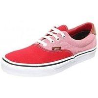 Chaussures Femme Baskets basses Vans era 59 rouge