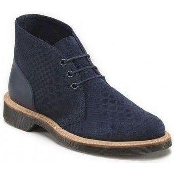 Chaussures Garçon Boots Dr Martens aggy bleu