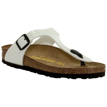 Chaussures Femme Tongs Birkenstock gizeh blanc