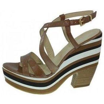 Chaussures Femme Sandales et Nu-pieds Elizabeth Stuart d34stuart001 camel