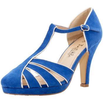 Chaussures Femme Sandales et Nu-pieds Initiale Paris 02764 bleu