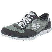 Chaussures Femme Baskets basses Skechers d83skech030 gris