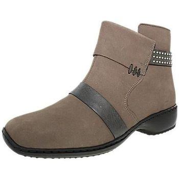 Chaussures Femme Bottines Rieker e42rieker021 beige