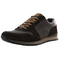Chaussures Homme Baskets basses Santafe new magic marron