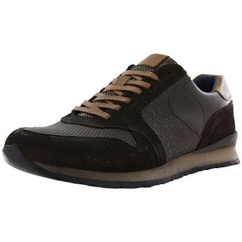 Chaussures Homme Baskets basses Santafe new magic marron