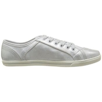 Chaussures Fille Baskets basses Dockers by Gerli h34docks056 argent