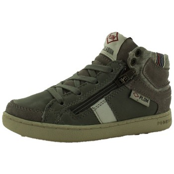 Chaussures Fille Baskets montantes Palladium macadam cash gris