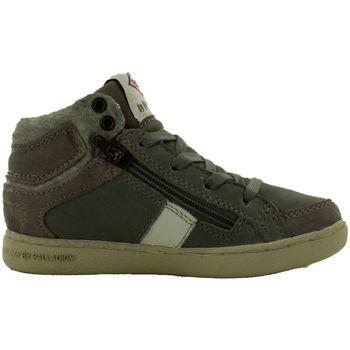 Chaussures Fille Baskets montantes Palladium macadam cash gris